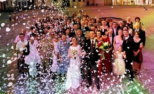 KONFETI vestuvėms (Baltos širdelės)