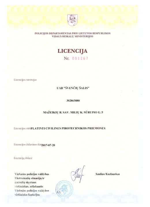 Licencija 2
