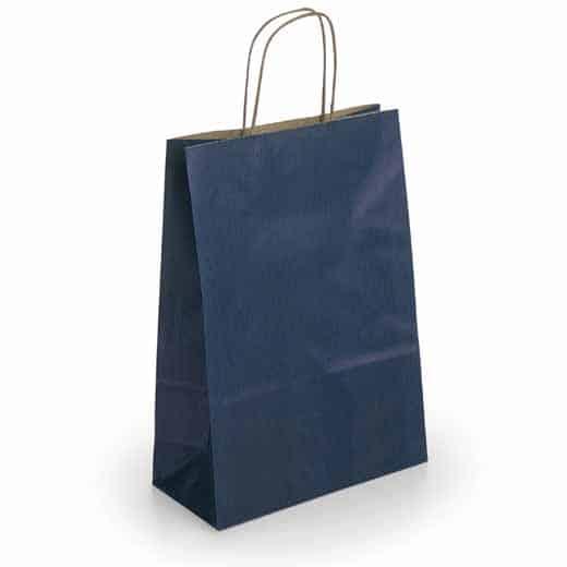 Popierinis dovanų maišelis (mėlynas)