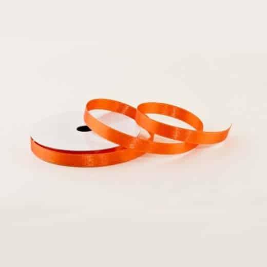 Atlasinė juostelė (oranžinė)