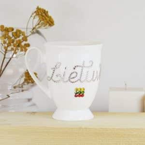 """Porcelianinis puodelis """"Lietuva"""""""