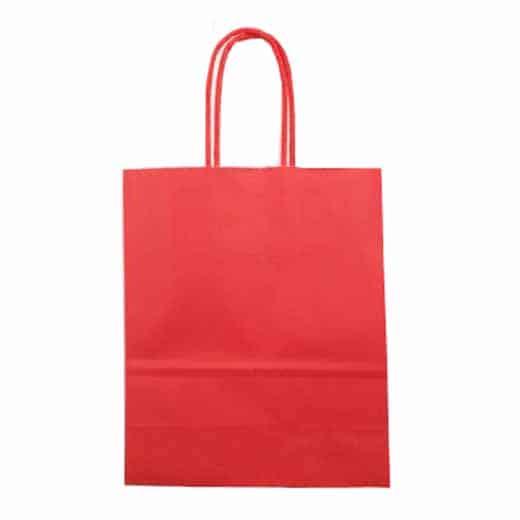 Popierinis dovanų maišelis (raudonas)