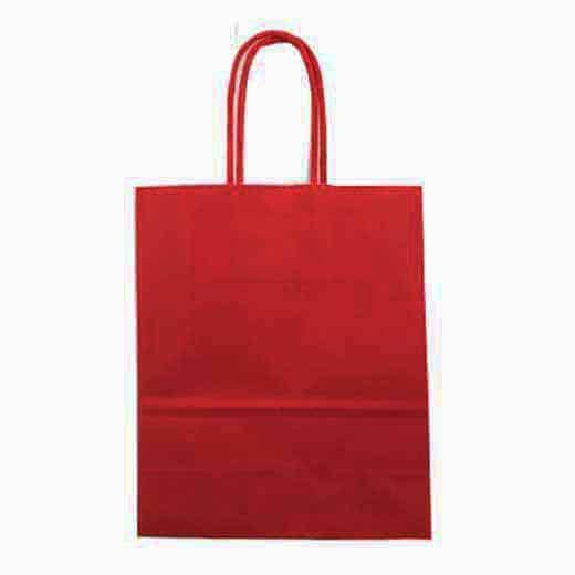 Popierinisdovanų maišelis (tamsiai raudonas)