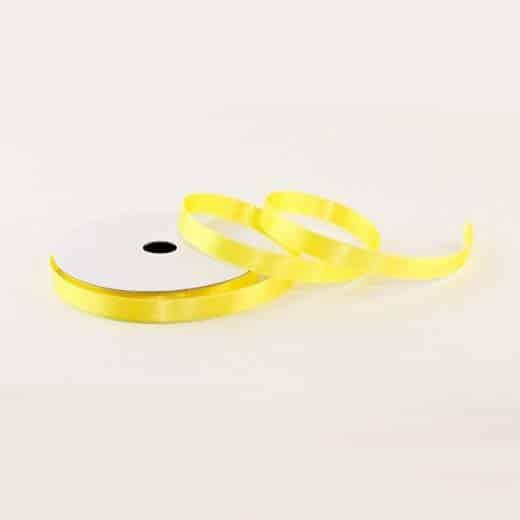 Atlasinė juostelė (šviesi geltona)