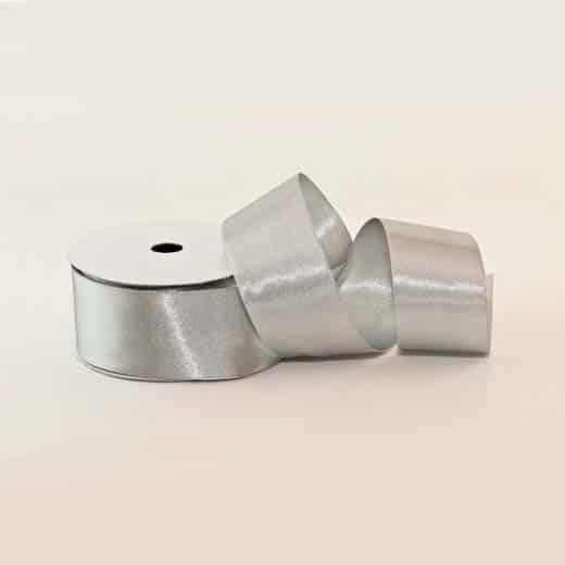 Satino juostelė (sidabrinė)