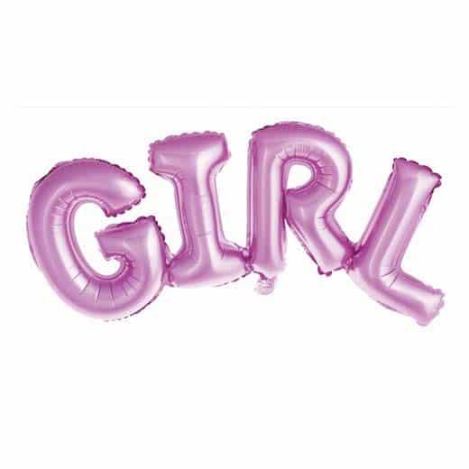 "Folinis balionas ""Girl"" 73cm."