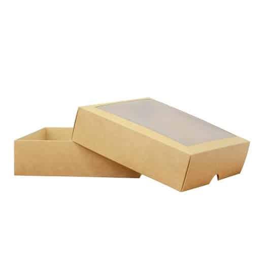 Dviejų dalių dėžutė 210x210x60mm