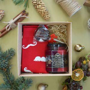 """Kalėdinis rinkinys """"Medus ir kojinės"""""""
