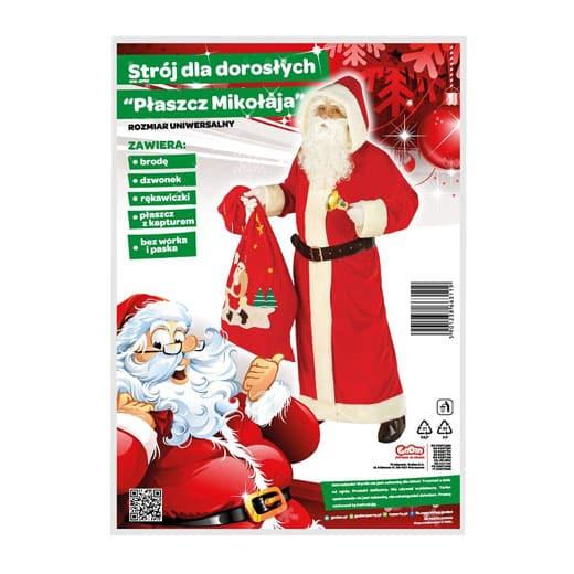 Kalėdų senelio apranga (Vienas dydis)