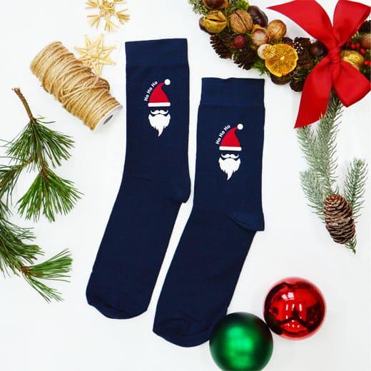 """Kalėdinės kojinės """"Ho Ho Ho"""""""