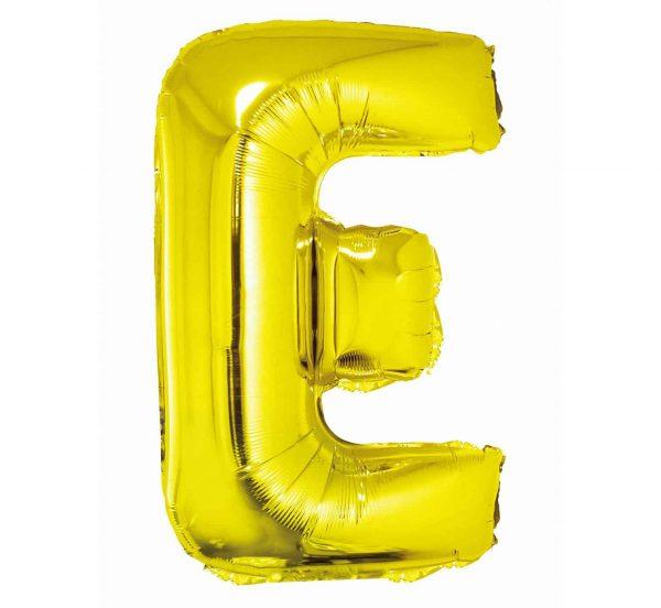 """Folinis balionas """"Raidė E"""" 35cm."""