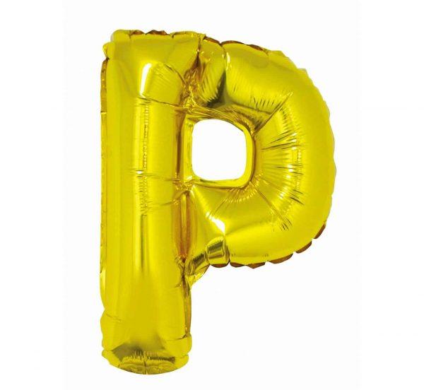"""Folinis balionas """"Raidė P"""" 35cm."""
