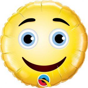 "Folinis balionas ""Smile"" 9cm."