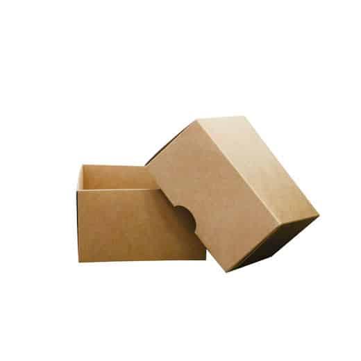 Dviejų dalių dėžutė 120x120x70mm DD-3