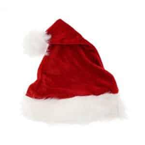 """Kalėdų senelio kepurė """"Minkštas aksomas"""""""