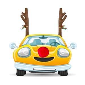 Automobilio dekoracija (ragai ir nosis)