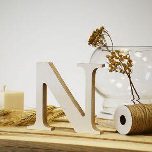 """Medinė raidė """"N"""""""