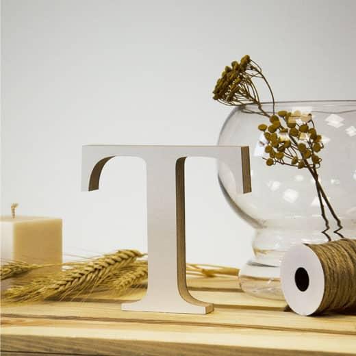 """Medinė raidė """"T"""""""