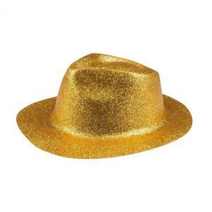 Blizganti skrybėlė (auksinė)