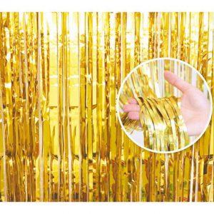 Auksinė durų uždangėlė (90x240cm.)