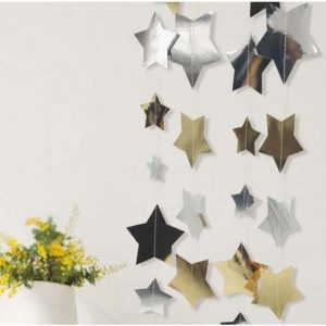 Dekoracija iš žvaigždučių
