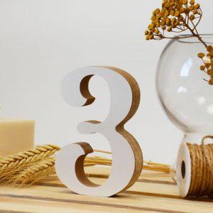 """Medinis skaičius """"3"""""""