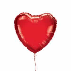 """Folinis balionas """"Širdis"""" 18""""/46cm"""