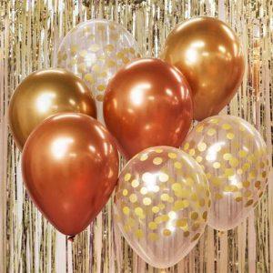 """Guminiai balionai """"Auksinė puokštė"""""""