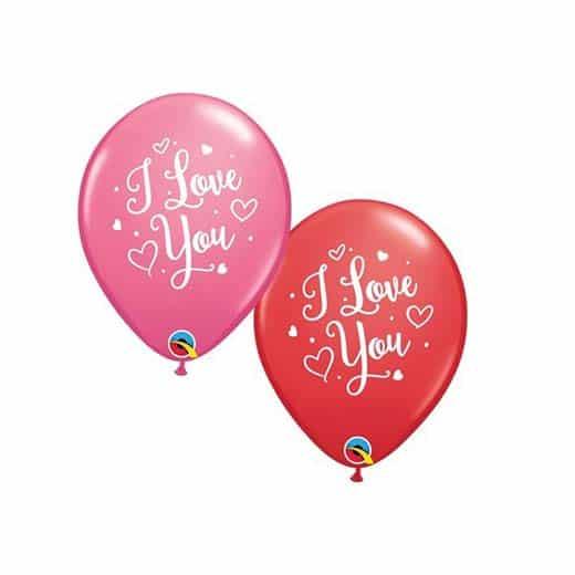 """Guminiai balionai """"I love you"""""""