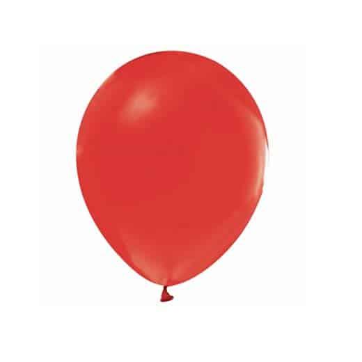 Guminiai balionai raudoni