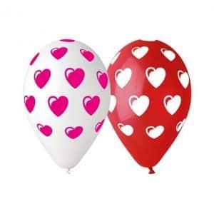 """Guminiai balionai """"Širdelės"""""""