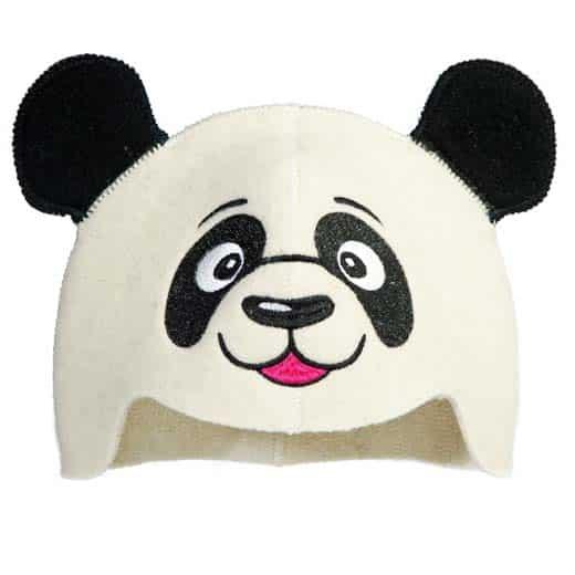 """Vaikiška pirties kepurė """"Panda"""""""