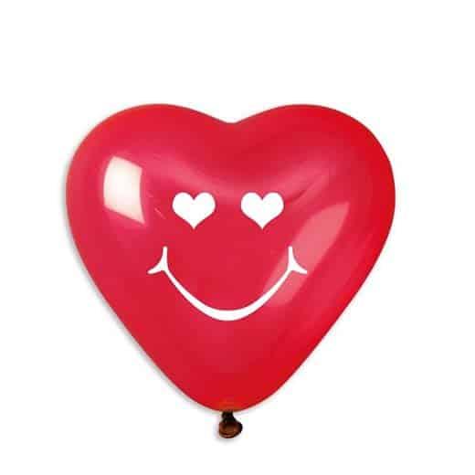 """Širdelės formos balionai 25cm/10"""""""