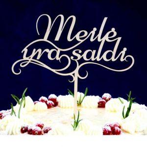 """Torto smeigtukas """"Meilė yra saldi"""" 19cm"""