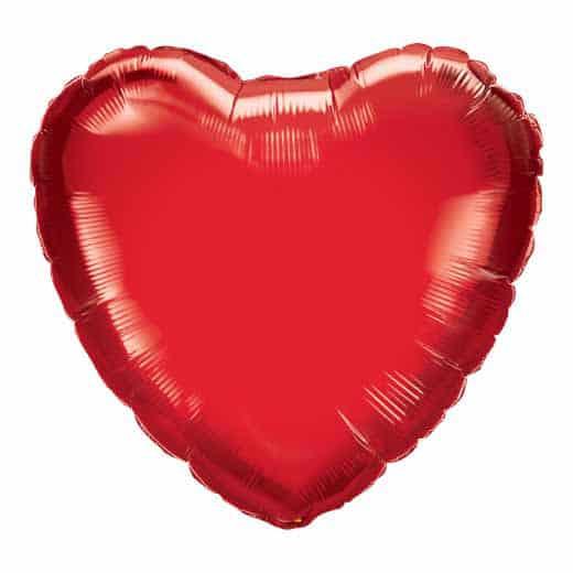 """Folinis balionas """"Širdis"""""""