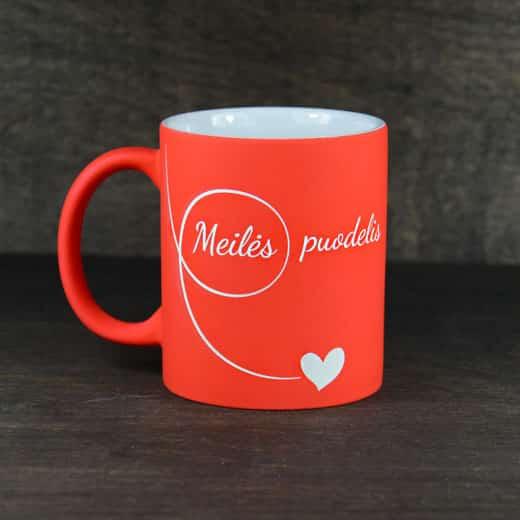 "Puodelis ""Meilės puodelis"""