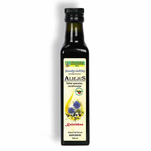 Juodgrūdžių- juodųjų kmynų aliejus