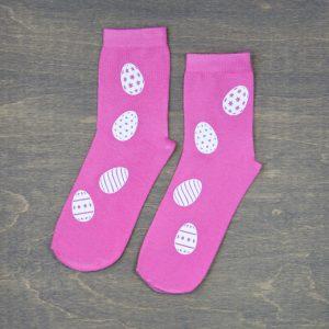 """Moteriškos kojinės """"Velykiniai margučiai"""""""