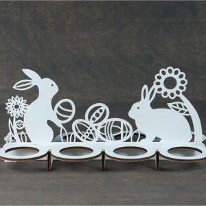 """Velykinė dekoracija """"Kiaušinių padėkliukas"""""""
