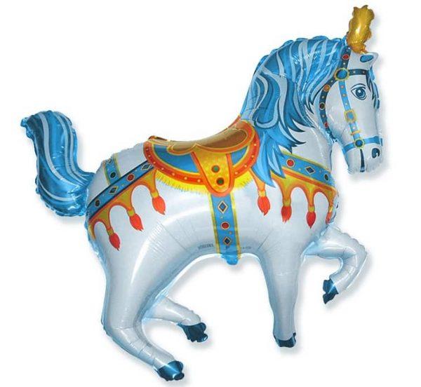 folinis-balionas-cirko-zirgas