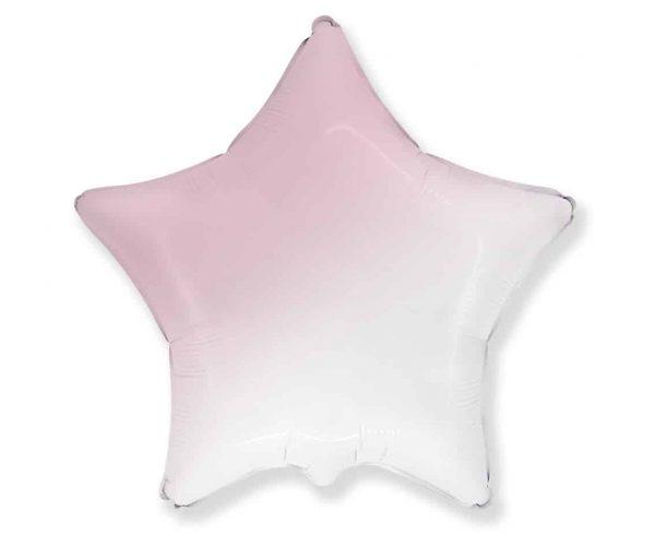 folinis-balionas-baltai-rozine-zvaigzde