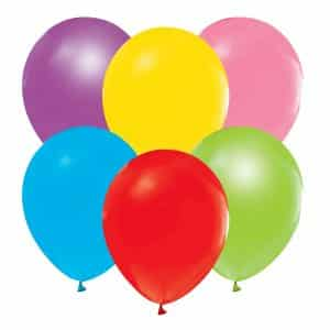 "Pastelinės spalvos balionų mix 12""/10vnt"