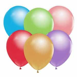 "Perlamutrinių balionų mix 12""/10vnt"
