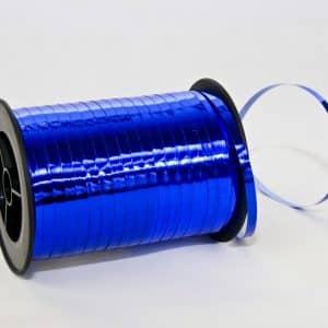 Polipropileno juostelė 0,5cm/230m/metalizuotos mėlynos spalvos