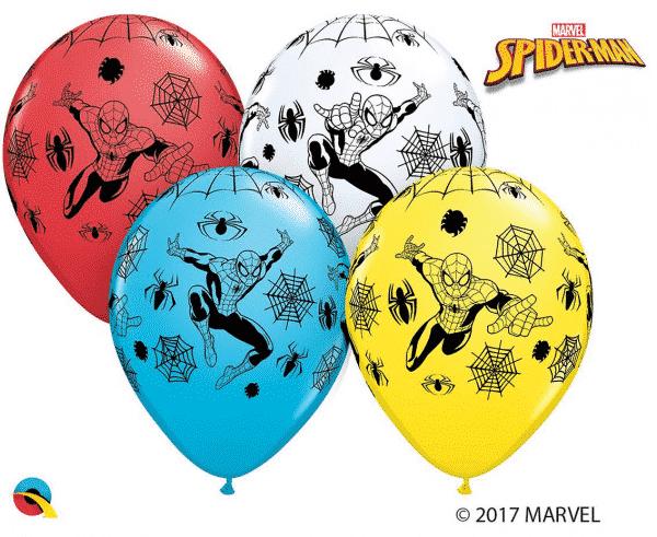 """Guminiai balionai žmogus voras 11""""/25vnt"""