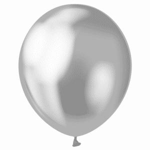 Platininio sidabro chrominiai balionai