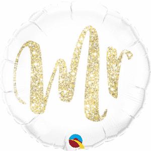"Folinis balionas ""Mr"" 18""/46cm"