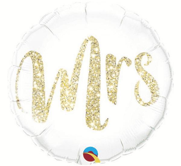 "Folinis balionas ""Mrs"" 18""/46cm"