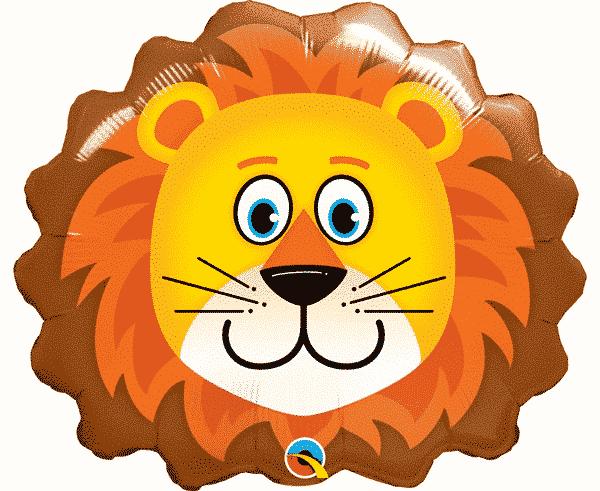 "Folinis balionas ""Mielas liūtas"" 14"""