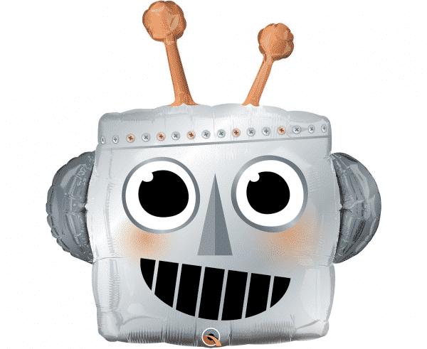 "Folinis balionas ""Roboto galva"" 35""/89cm"